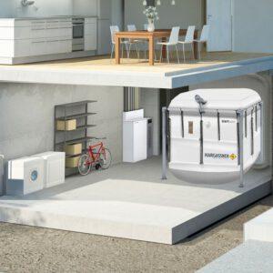 NANO-PK 6 tot 32 kW - bunker