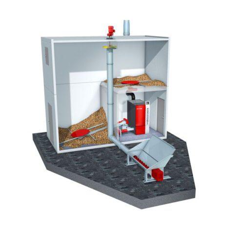 Energiecontainer doorsnede