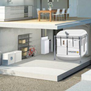 NANO-PK PLUS 6 tot 32 kW - bunker
