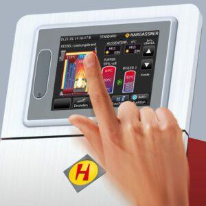 Pelletsverwarming ECO-PK 250-330 kW - bediening